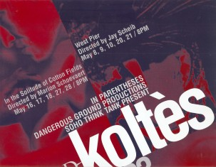 Festival Koltes affiche 1